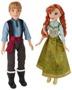 Disney Frozen Anna og Kristoff-dukker