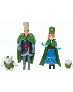 Disney Frozen Troll bryllupssett - 4 figurer