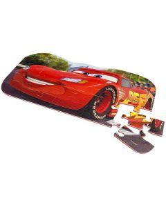 Disney Cars gulvpuslespill