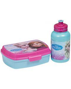 Disney Frozen matboks og flaskesett