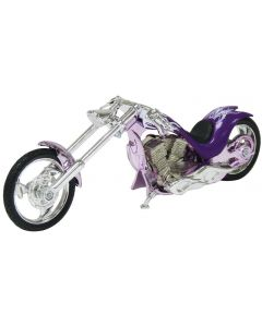 Motormax Iron Chopper-motorsykkel - 1:18