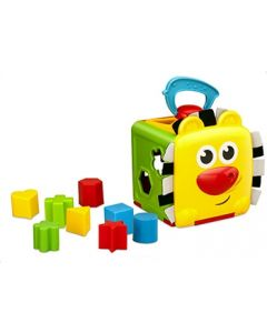 Bkids jungle buddy shape sorter