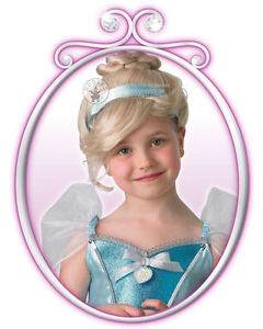 Disney Princess Askepott parykk