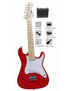 Elektrisk gitar med amp - 81 cm