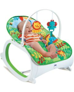 Fitch Baby baby bouncer - grønn