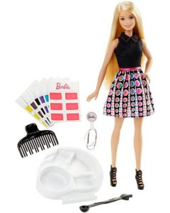 Barbie mix and match color dukke