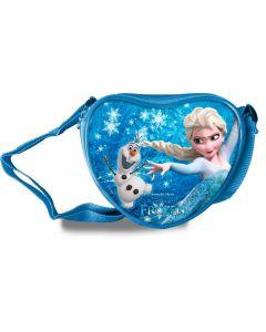 Disney Frozen hjerteformet skulderveske - blå