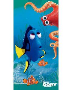 Disney Finding Dory strandhåndkle 70x140cm