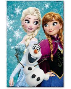 Disney Frozen fleecepledd 100x150cm