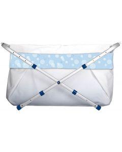 BiBaBad Flexi 60-80 cm - blå bobler