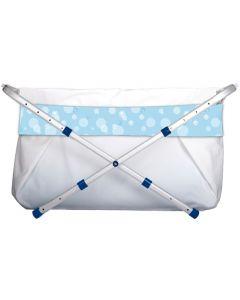 BiBaBad Flexi 70-90 cm - blå bobler