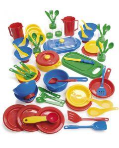 Dantoy barnehage kjøkkensett - 63 deler