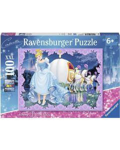 Ravensburger puslespill Disney Princess Askepott - 100 biter
