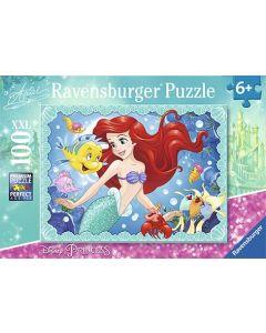 Ravensburger puslespill Disney Princess Ariel - 100 biter
