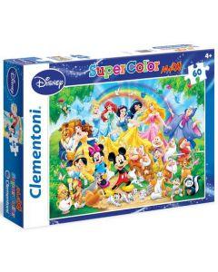 Clementoni Maxi puslespill Disney classic - 60 biter