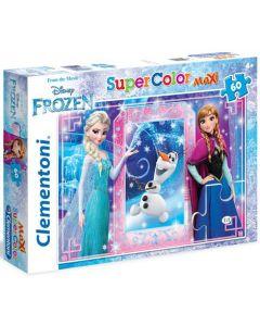 Clementoni Maxi puslespill Disney Frozen - 60 biter