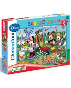 Clementoni Maxi puslespill Mickey Mouse clubhouse - 60 biter