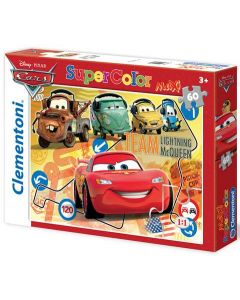 Clementoni Maxi puslespill Disney Cars - 60 biter