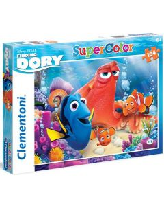 Clementoni Supercolor puslespill Disney Finding Dory - 104 biter