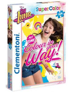 Clementoni Supercolor puslespill Disney Soy Luna put some colour in your way - 104 biter