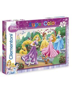 Clementoni Supercolor puslespill Disney Princess - 250 biter