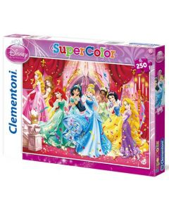 Clementoni Supercolor puslespill Disney Princess the dance - 250 biter
