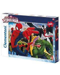 Clementoni Supercolor puslespill Spiderman - 250 biter