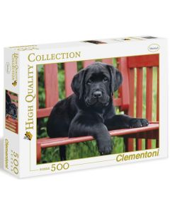 Clementoni high quality collection black dog - 500 biter