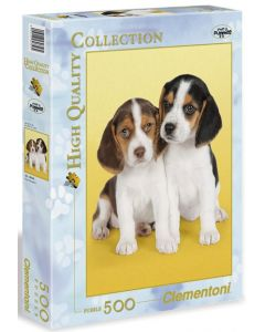 Clementoni high quality collection Beagles valper - 500 biter