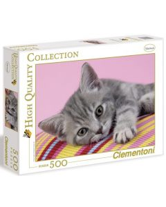 Clementoni high quality collection kitten - 500 biter
