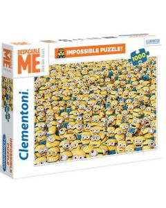 Clementoni Minions impossible puslespill - 1000 biter