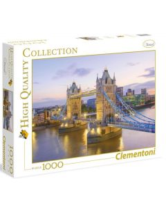 Clementoni high quality collection Tower Bridge - 1000 biter