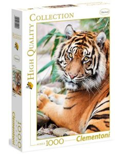 Clementoni high quality collection tiger - 1000 biter
