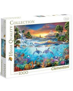 Clementoni high quality collection Under the sea - 1000 biter
