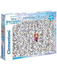 Clementoni Disney Frozen impossible puslespill - 1000 biter
