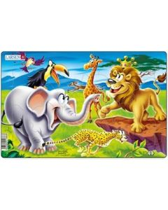 Platepuslespill Midi safari (elefant) - 11 brikker