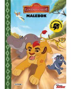 Disney The Lion Guard malebok med klistremerker