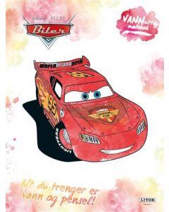Disney Cars vanvittig malebok