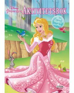 Disney Princess aktivitetsbok med klistremerker