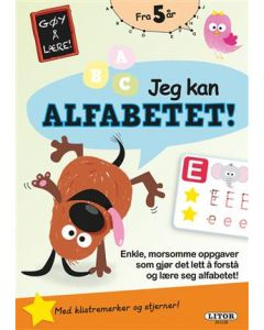 Lek og lær aktivitesbok - Jeg kan alfabetet