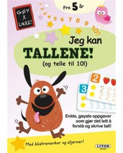 Lek og lær aktivitesbok - Jeg kan tall