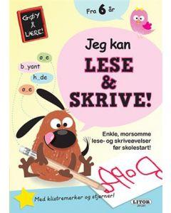 Lek og lær aktivitesbok - Jeg kan lese og skrive