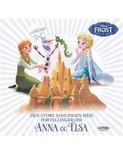 Disney Frozen lesebok - Den store samlingen med fortellinger om Anna og Elsa