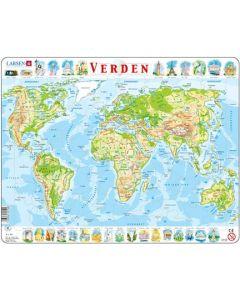 Platepuslespill Maxi kart og landemerker