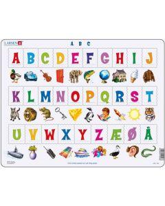 Platepuslespill Maxi alfabetet