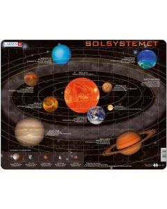 Platepuslespill Maxi solsystemet - lær om planeter