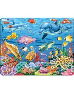 Platepuslespill Maxi dyr og fisk i havet