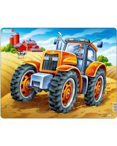 Platepuslespill Maxi traktor