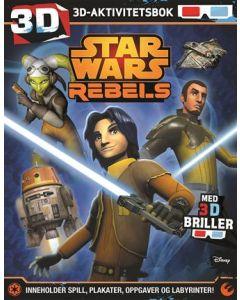 Star Wars Rebels 3D-aktivitetsbok med 3D-briller