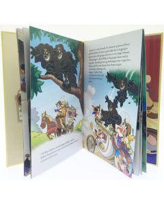 Disney De tre musketerer - hardcover-bok